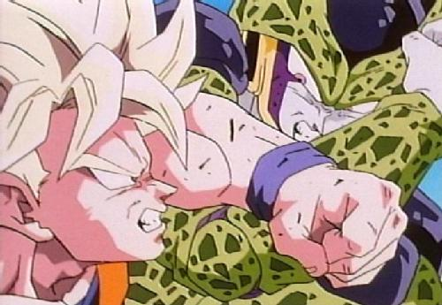 saga androides y cell dbz