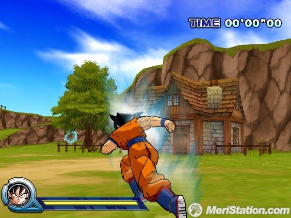 Dragon Ball Z: Infinite World (PlayStation 2)